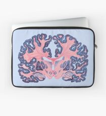 Gyri and Swirls of Human Brain Laptop Sleeve