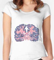 Gyri and Swirls of Human Brain Fitted Scoop T-Shirt