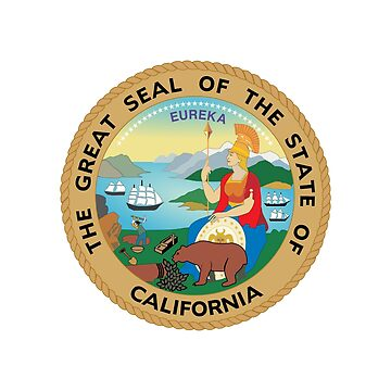 Seal of California by fourretout