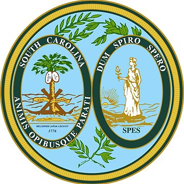 Seal of South Carolina by PZAndrews