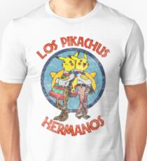 Los Pikachus Hermanos (Distressed Version) Unisex T-Shirt