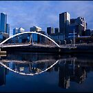 Melbourne Blue by Andrew Wilson