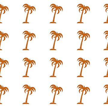 Seamless pattern with palm trees. by aquamarine-p