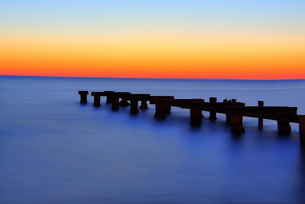 The Forbidden Pier. by Thomas Anderson