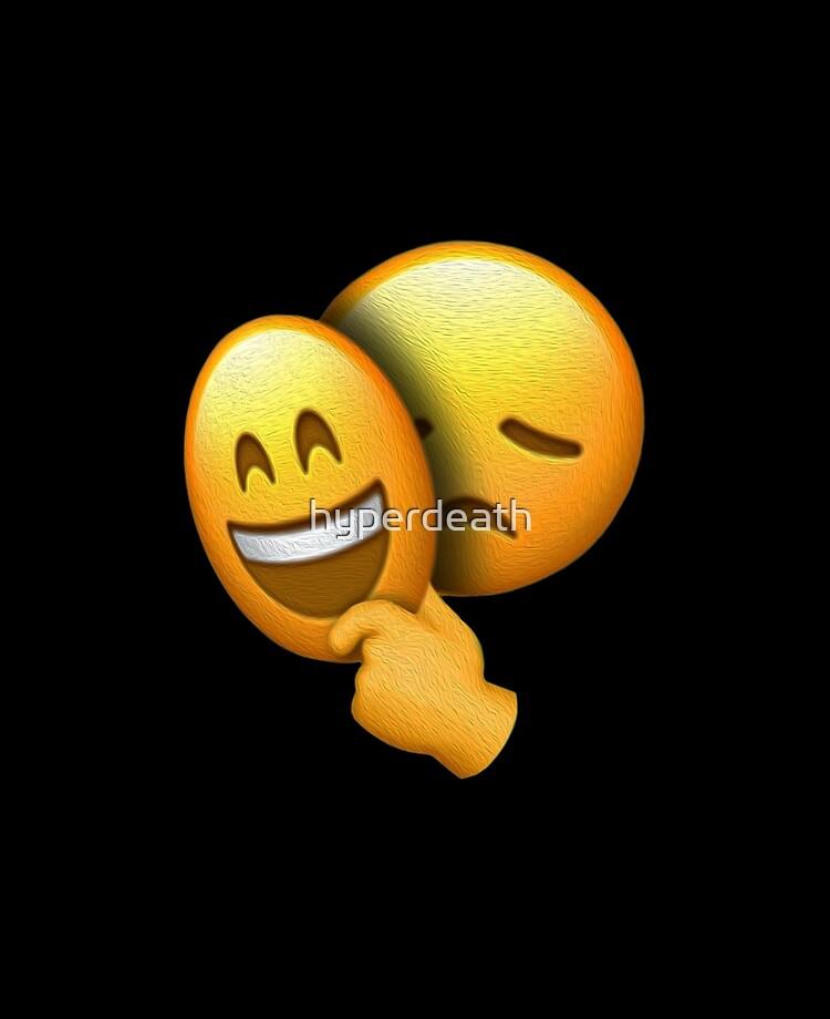 Happy Mask Over Sad Face Meme