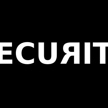 Security Guard Official Word Logo by Linkbekka