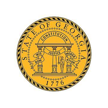 Seal of Georgia by fourretout