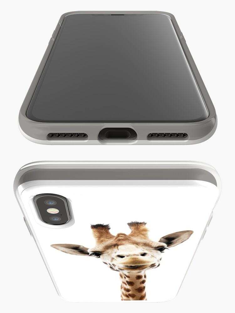 Alternative Ansicht von Giraffe iPhone-Hülle & Cover