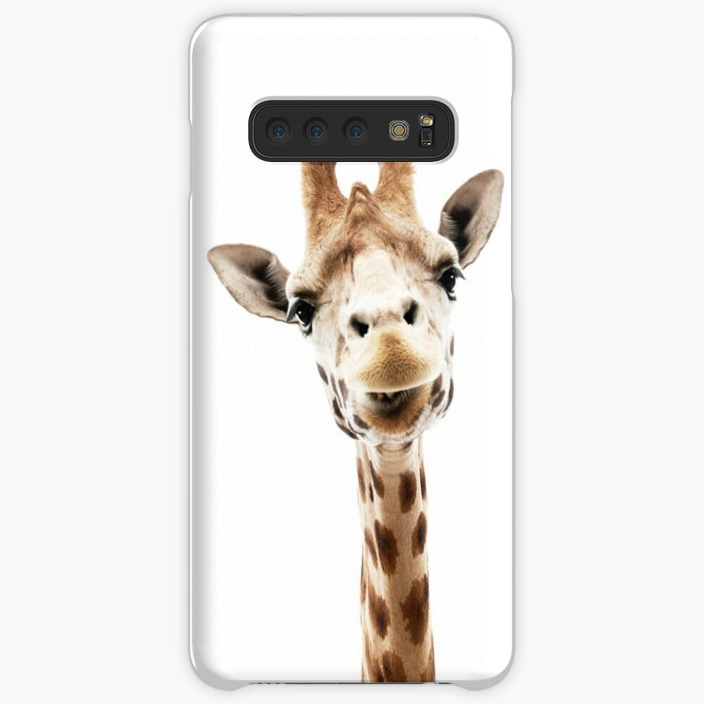 Giraffe Hülle & Klebefolie für Samsung Galaxy