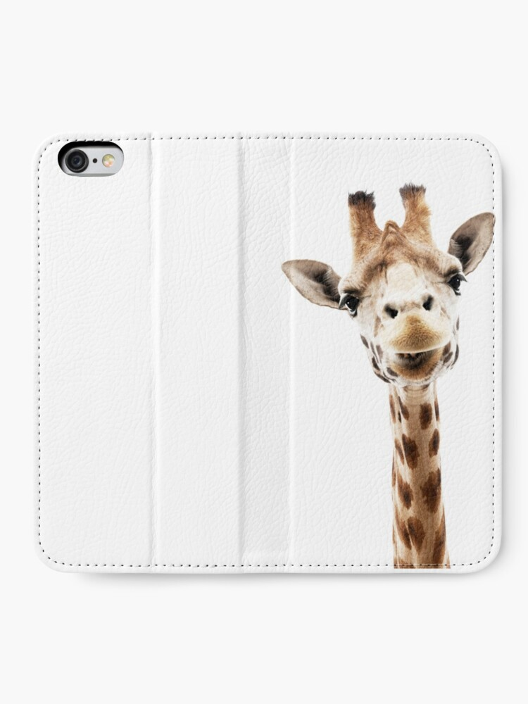 Alternative Ansicht von Giraffe iPhone Flip-Case