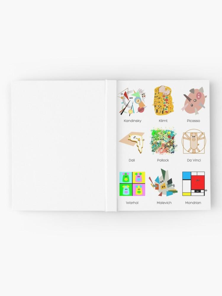Alternative Ansicht von Kunststunde Notizbuch