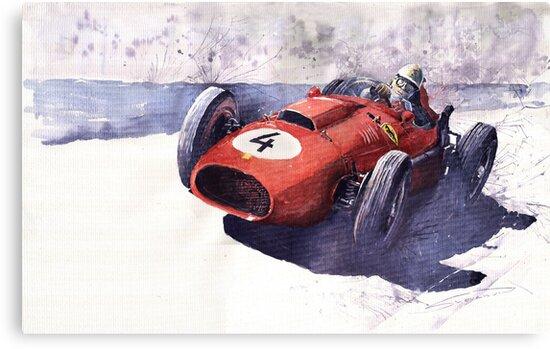 Ferrari 246 Mike Howthorn 1958 by Yuriy Shevchuk