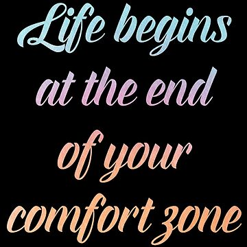 deep quotes comfort zone by untagged-shop