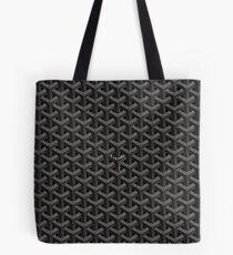 Black Matte Goyard Tote Bag