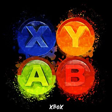 Xbox Buttons by fando01
