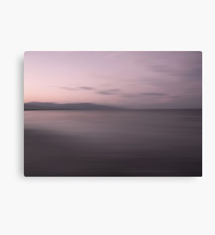 Sundown by the Sea Canvas Print