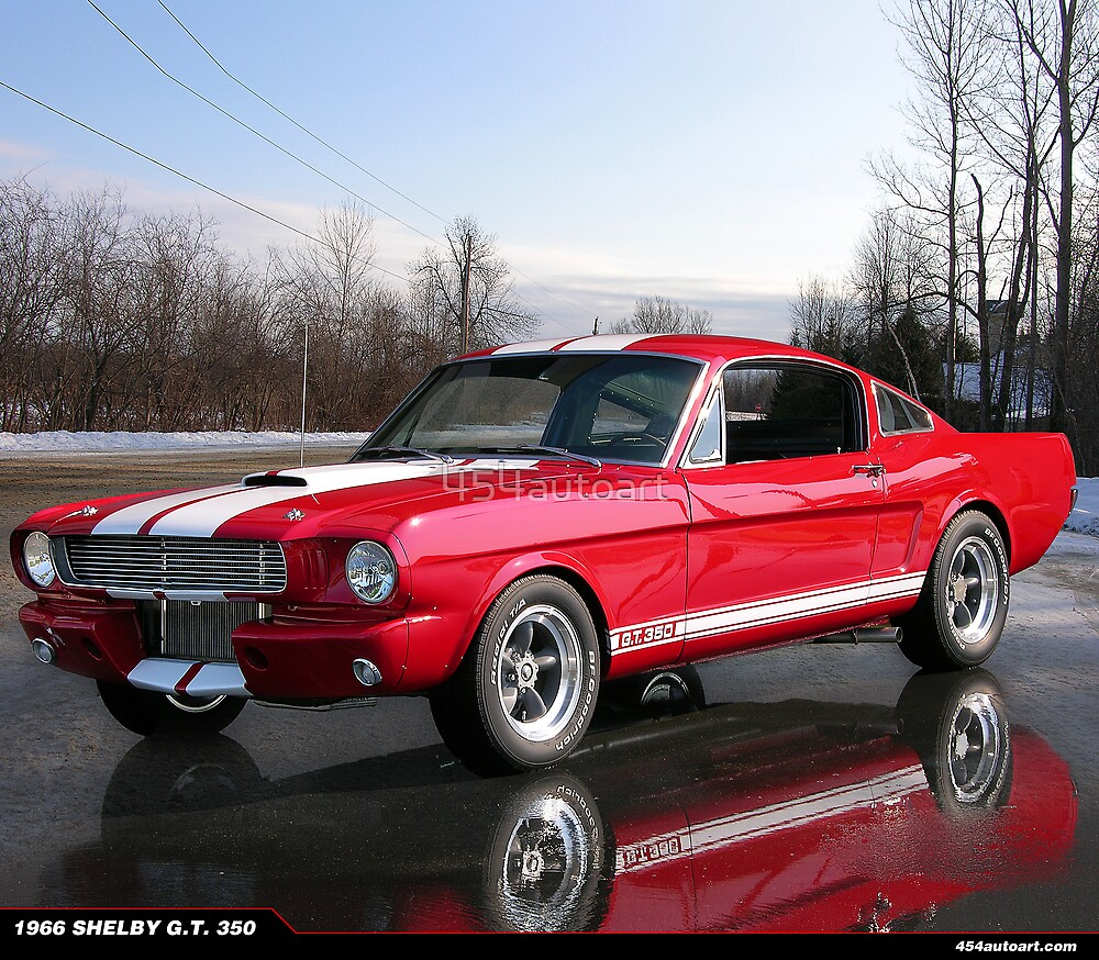 1966 Ford Mustang Shelby G.T. 350 by 454autoart