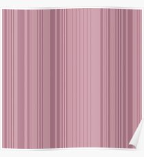 Vertical stripes pattern Poster