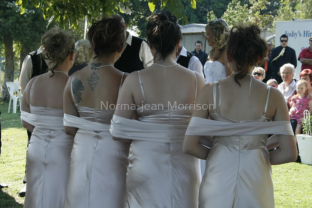 sweet bridesmaids by Norma-jean Morrison
