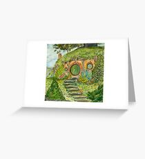 Bag End Greeting Card