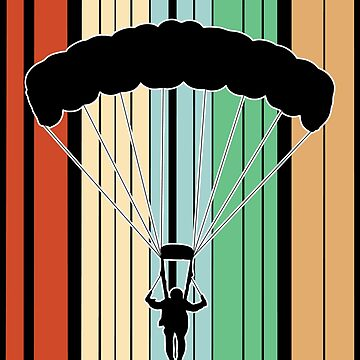 Parachuting Skydiving Funny Design - Id Rather Be by kudostees