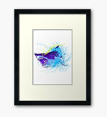 Great White Shark Framed Print