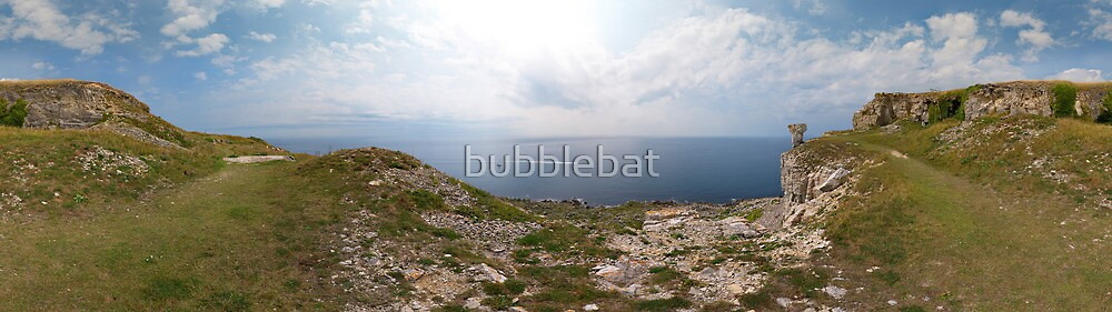 St Aldhelm's Head Panorama by bubblebat