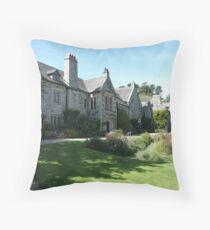 Cotehele House Throw Pillow