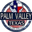 Palm Valley Texas rustic wood circle by artisticattitud