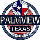 Palmview Texas rustic wood circle by artisticattitud