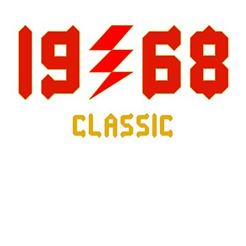 1968 Classic Design T Shirt & Tanks by RadTechdesigns