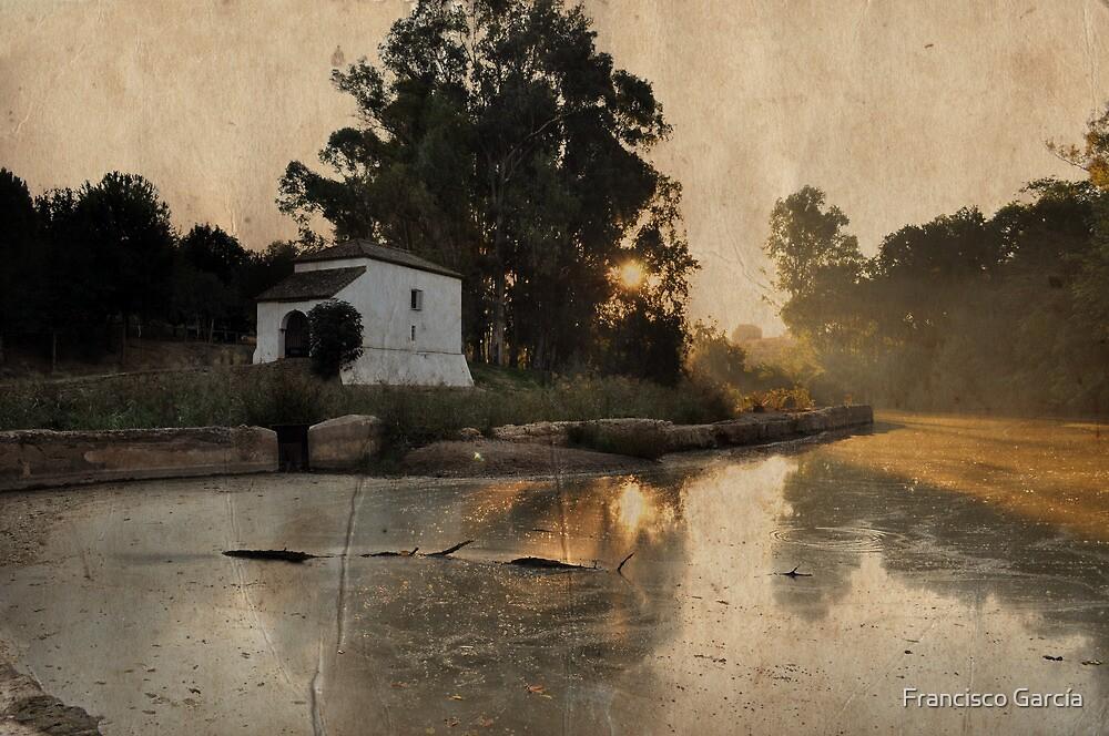 Molino sobre el río by Francisco García