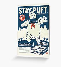 Stay Puft Marshmallow Man Greeting Card