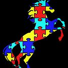 Unicorn Puzzle Gift by Reutmor