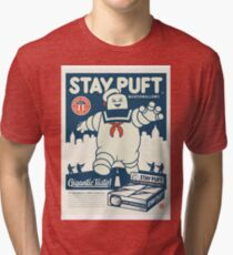 Stay Puft Marshmallow Man Tri-blend T-Shirt