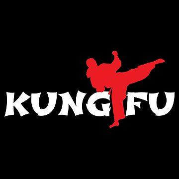 Kungfu Kicks Chinese Martial Arts - Gift Idea by vicoli-shirts