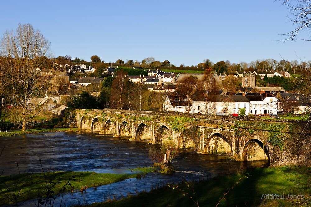 Bridge over the River Nore, Inistioge, County Kilkenny by Andrew Jones