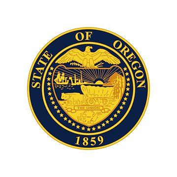 Seal of Oregon by fourretout