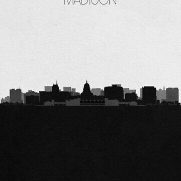 Travel Posters | Destination: Madison by geekmywall