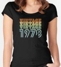 Camiseta entallada de cuello redondo Diseño Retro 41 años - Vintage 1978