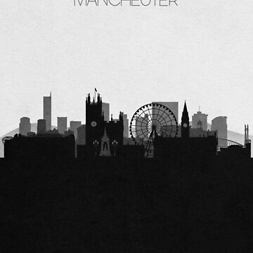 Travel Posters | Destination: Manchester by geekmywall