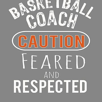 Scary basketball Coach Gift Design by LGamble12345