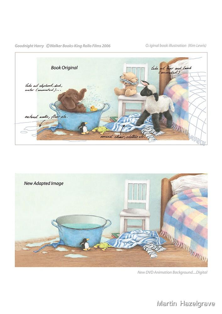 Book Adaptations...Goodnight Harry by Martin  Hazelgrave