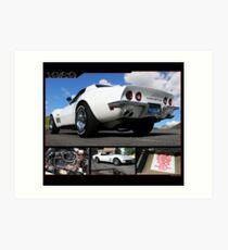 1969 Corvette Art Print