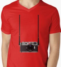 Leica M9 Men's V-Neck T-Shirt