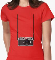 Leica M9 Women's Fitted T-Shirt