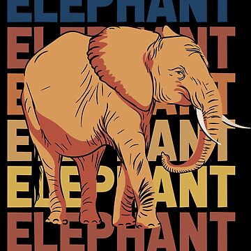 Elephant Africa by GeschenkIdee