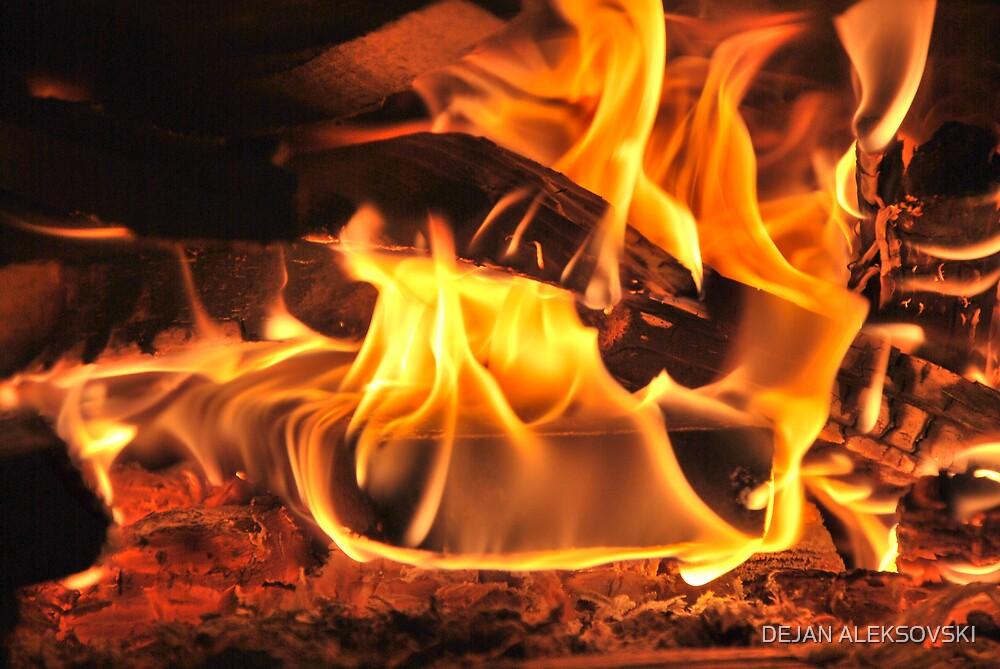 Fire by DEJAN ALEKSOVSKI