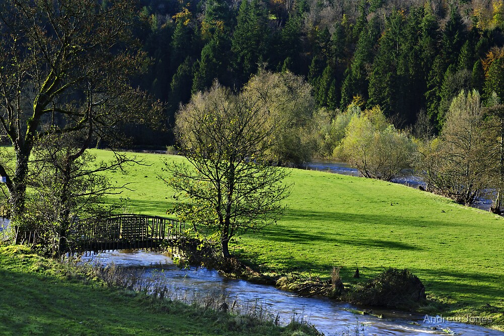 River Nore, Inistioge, County Kilkenny, Ireland by Andrew Jones