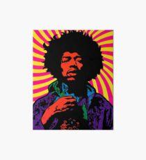 Lámina rígida Hendrix psicodélico
